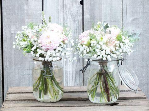 Les fleurs d 39 emilijolie fleuriste champ tre rennes - Decoration de vase pour mariage ...