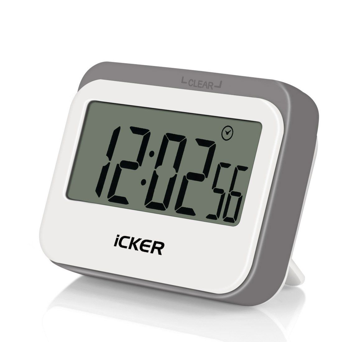 iCKER Digital Kitchen Timer with Large Display, Loud Sounding Alarm ...