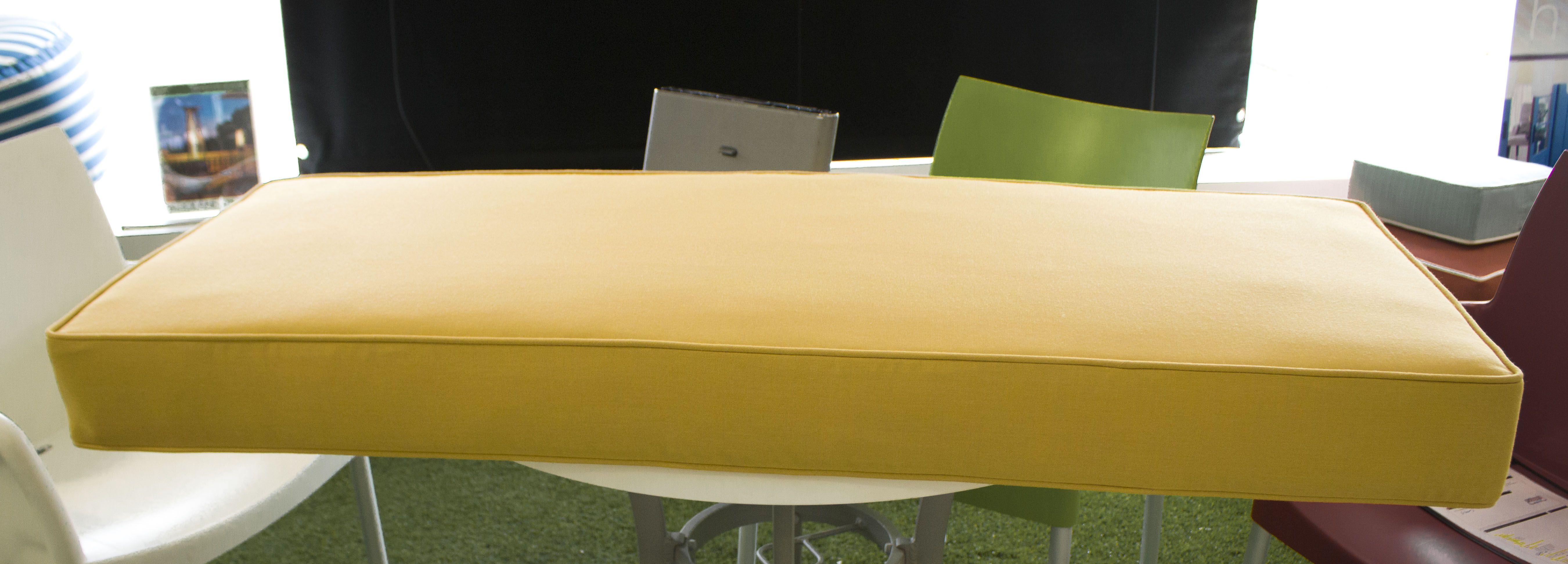 Sunbrella Meridian Mustard 40061 0009 Fusion Collection Upholstery
