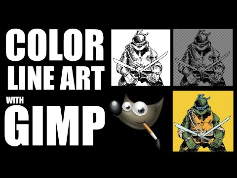 How To Color In Gimp Without Coloring The Black Lines Google Search Gimp Tutorial Gimp Photoshop Elements