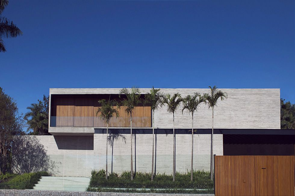 Casa cubos bras lia brasil 2016 val ria gontijo for Casas minimalistas 2016