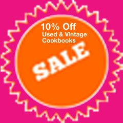 Used and collectible cookbooks sale. 10% off all cookbooks through April 30, 2013 at Cookbook Village