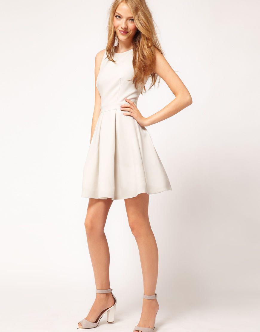 Summer white dresses-pinterest