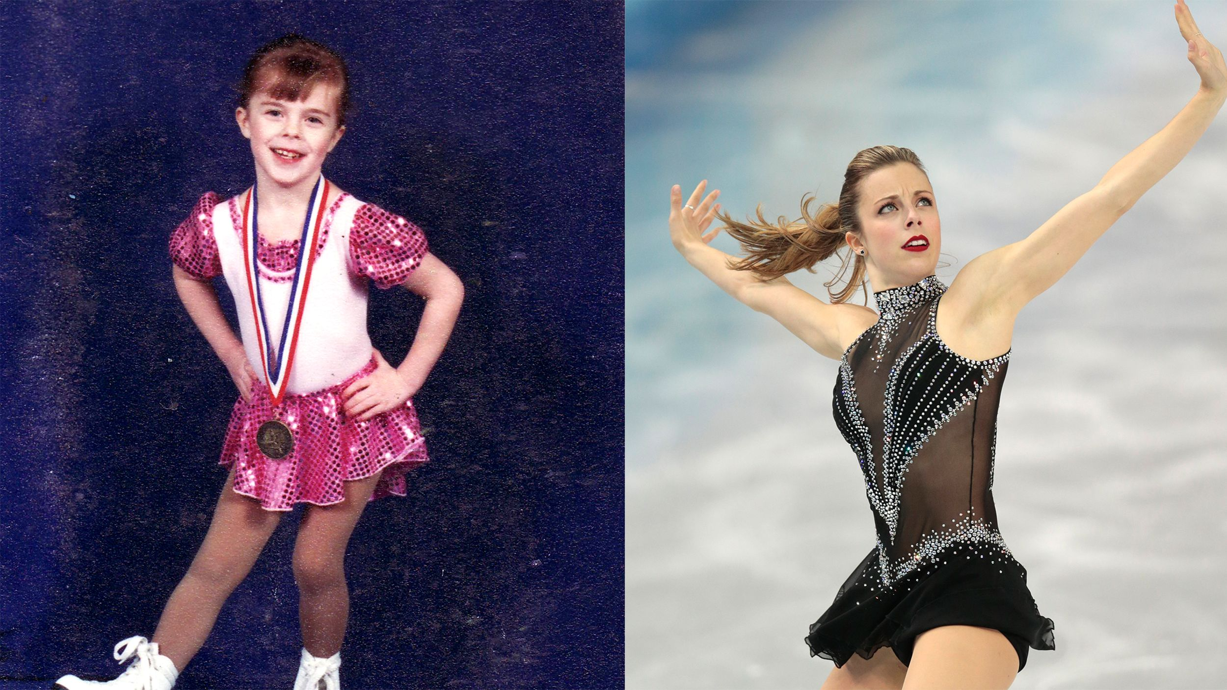 Then And Now Here S What Your Favorite Olympians Looked