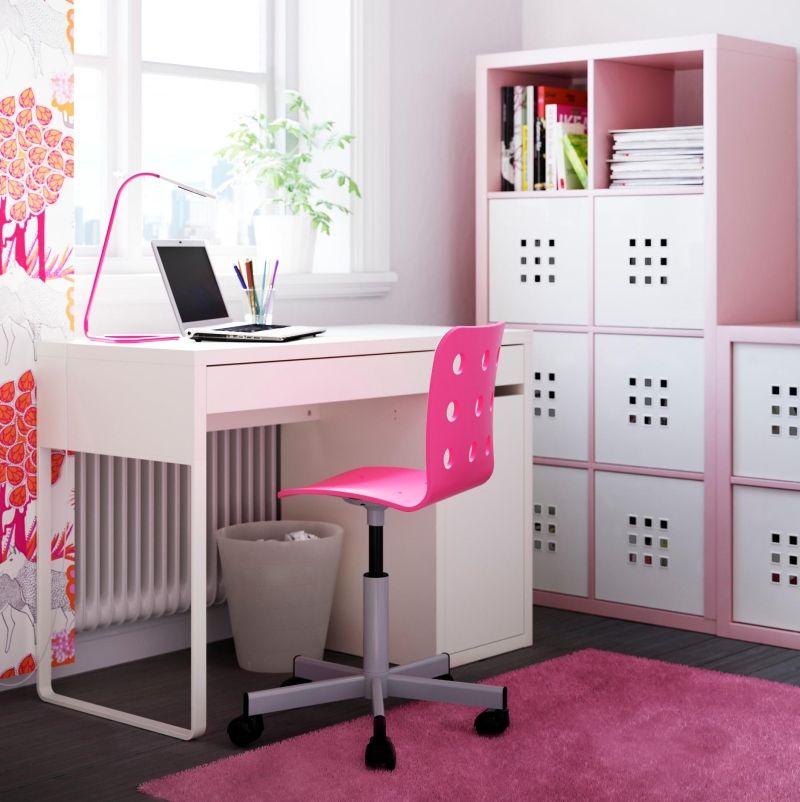 Schreibtisch weiß ikea mädchen  Kinderzimmer praktisch und stilvoll einrichten - Schreibtisch und ...