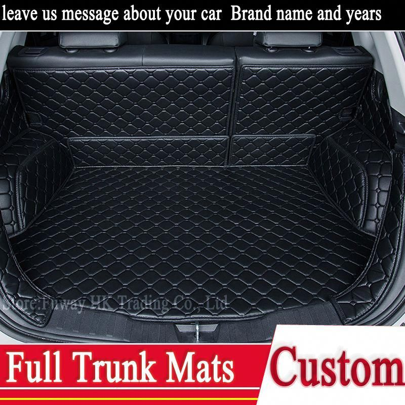 Full trunk 3D mats leather pad for Volkswagen VW CC