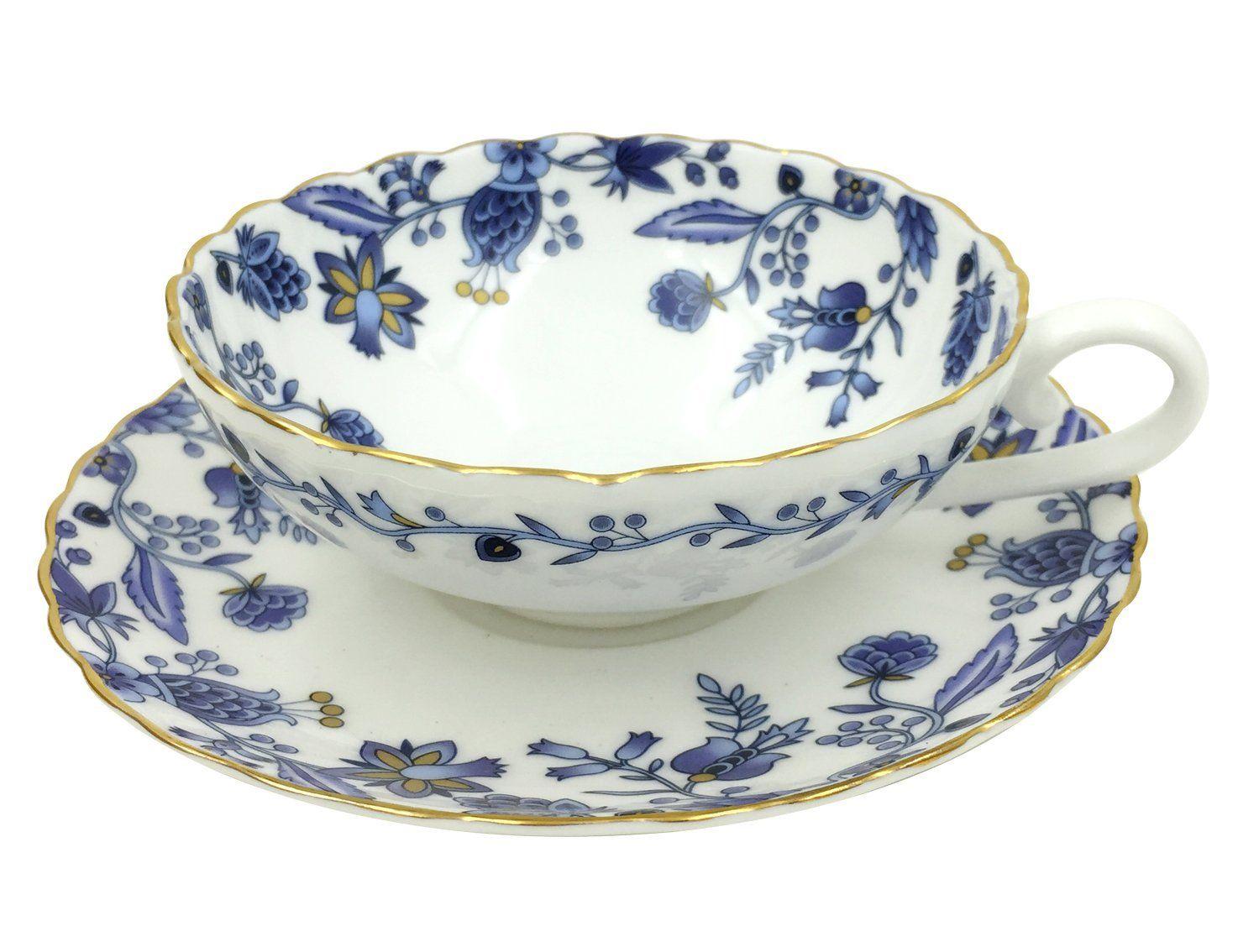 Jsaron Vintage Small Flower Tea Coffee Cup