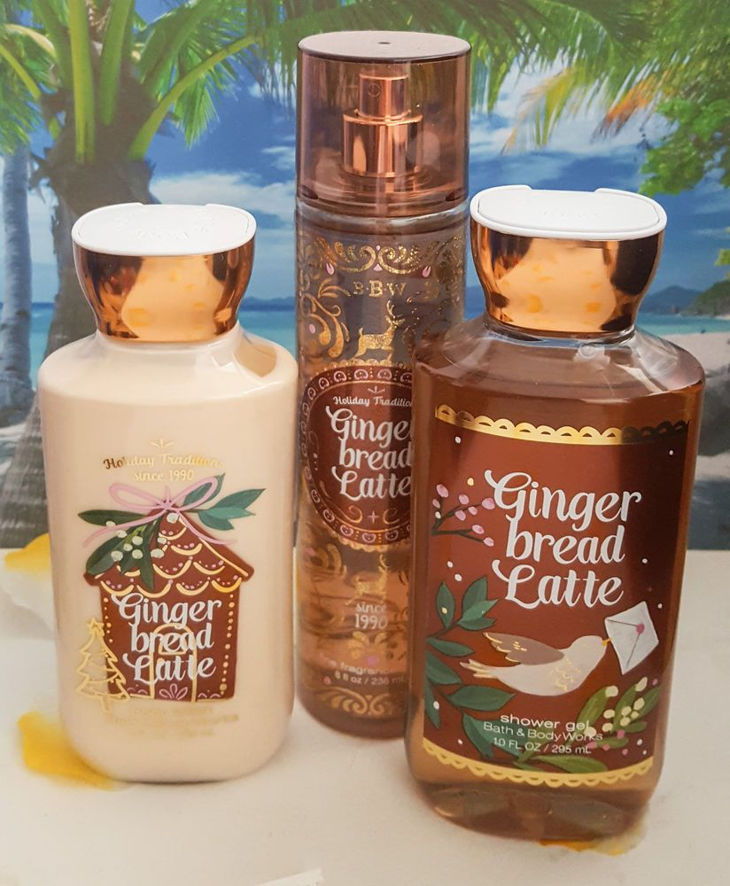Bath And Body Works Gingerbread Latte Body Lotion Shower