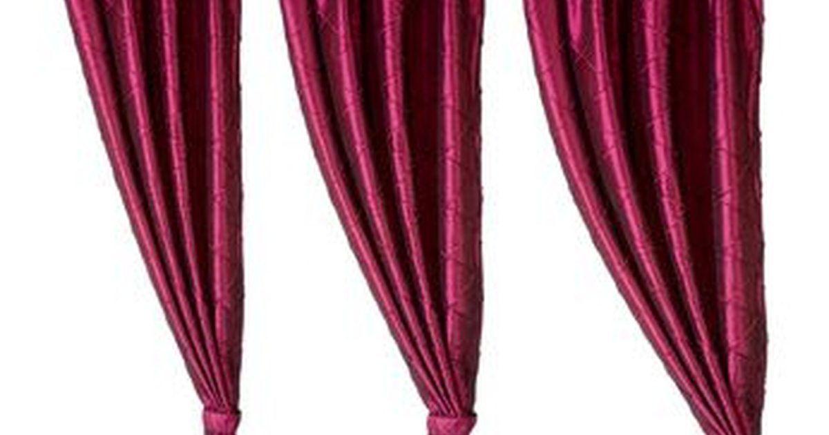 Cómo hacer cortinas plisadas con cinta tableadora Cortinas