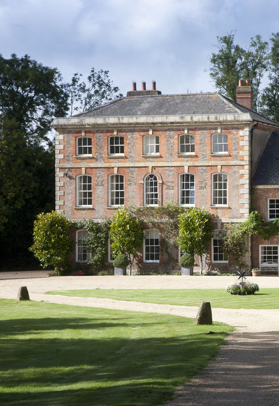Georgian Country House Wiltshire England For Sale With