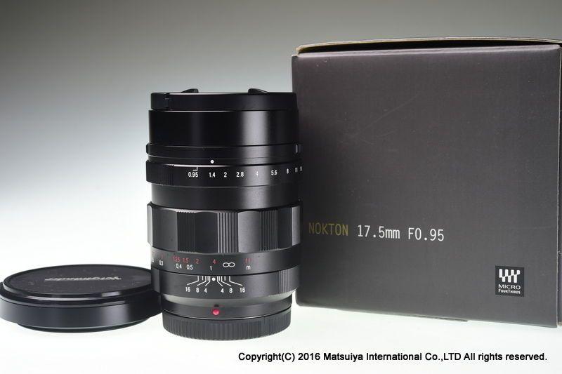 Voigtlander Nokton 17 5mm F 0 95 For Micro Four Thirds Excellent Voigtlander 5mm Micro Olympus