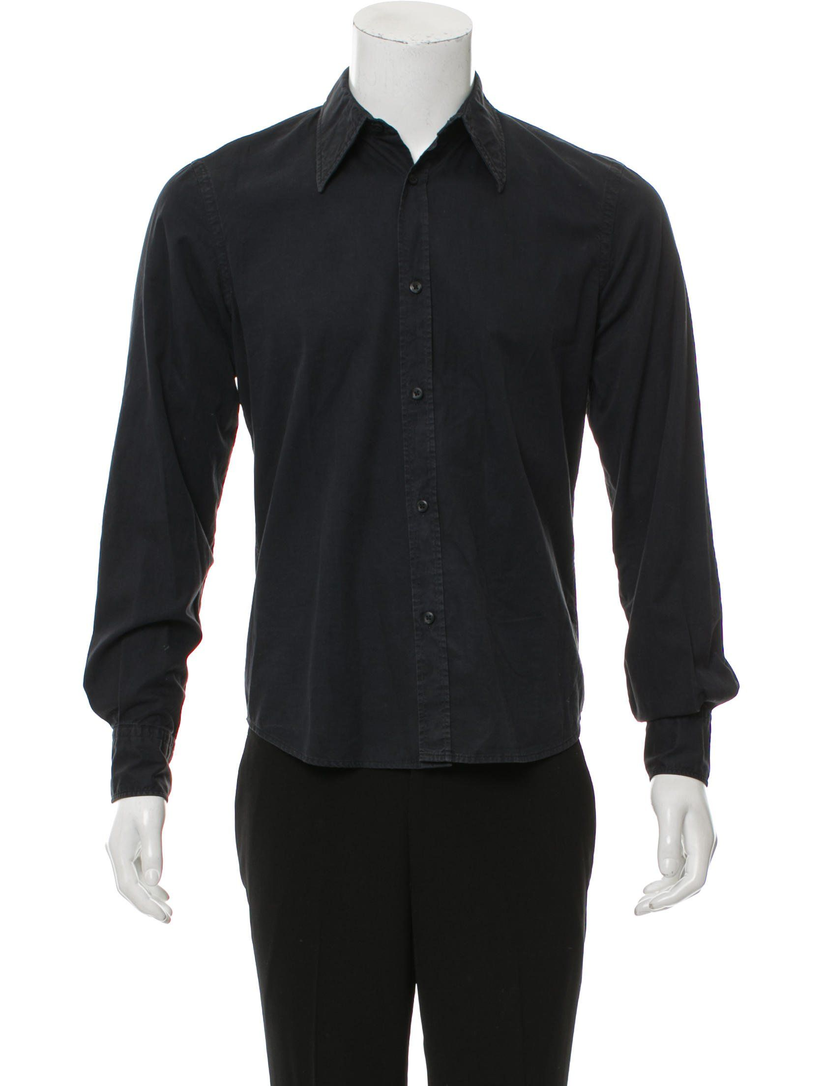Men S Black Costume National Woven Shirt With Button Closures At Front And Cuffs Shirts Casual Shirts Button Up Shirts [ 2208 x 1674 Pixel ]