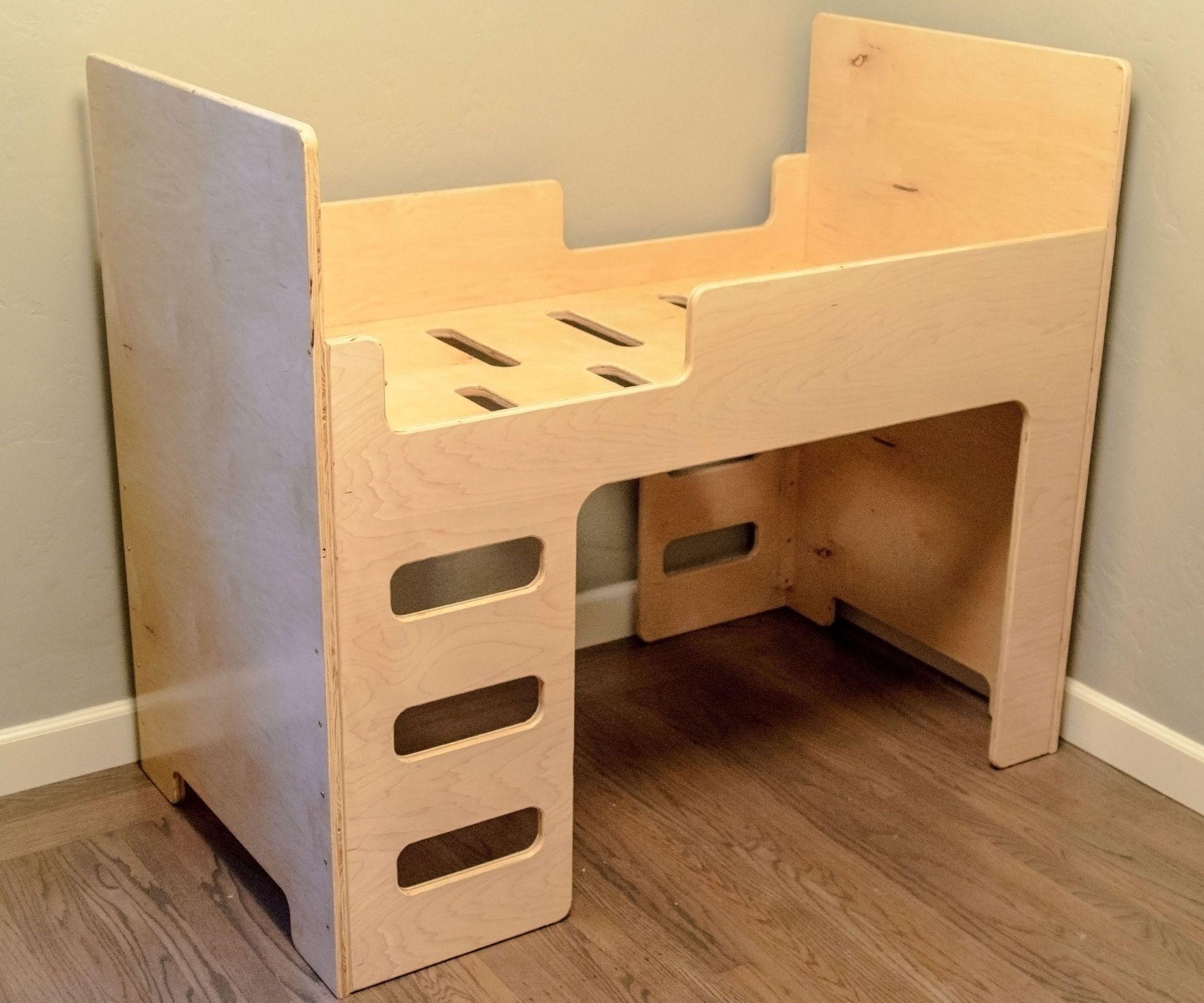 Diy kids loft bed plans  Simple Elegant Toddler Bed   My little Champ u Princess
