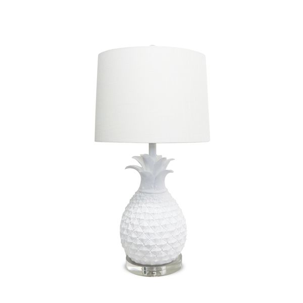 lamps products pineapple nature ceramic lamp c table west elm