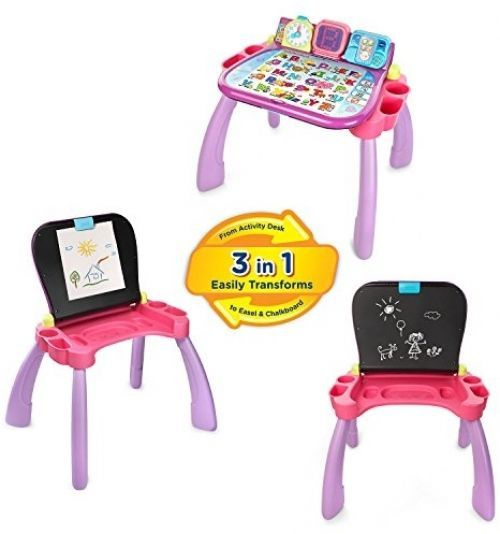 Activity Desk Touch And Learn Vtech Purple Online Exclusive Write