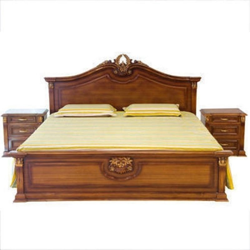 Adorable Wooden Box Bed Designs Pictures In India  Wooden