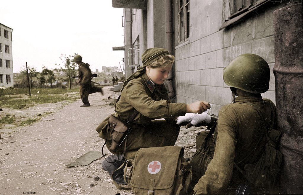 Pin on Red Army WW 2 and after in Color