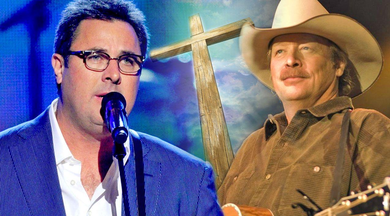 Country Legends Come Together For Spine Tingling Medley Of Gospel