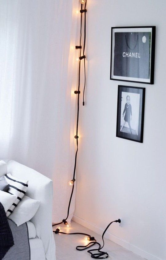 Decorating With Light 10 Pretty Ways Use String Lights Apartment Therapy Home Remes