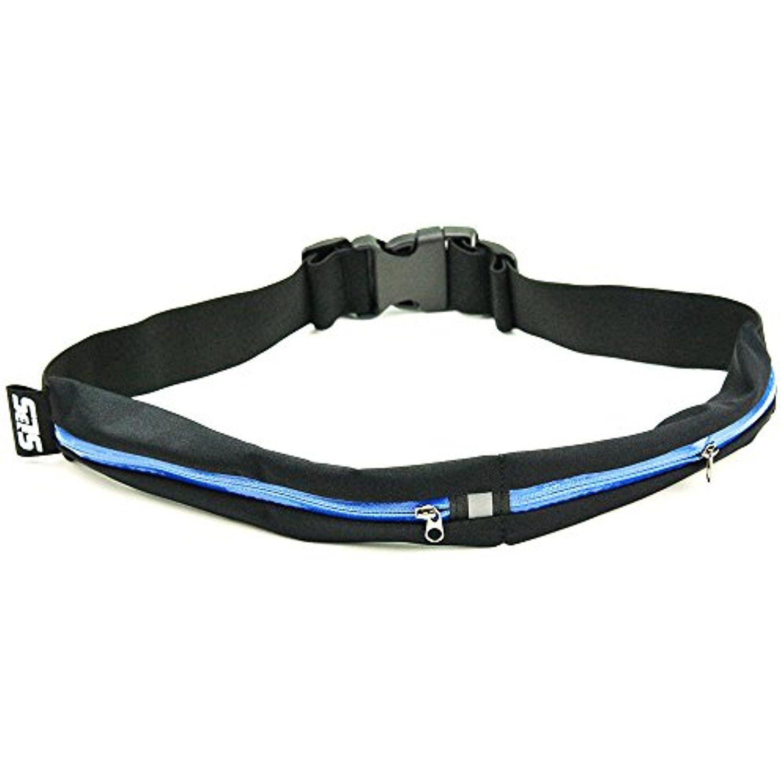 bb9539fa5759 SLS3 Dual Pocket Running Belt Race Belt Waist Pack for Smartphone ...