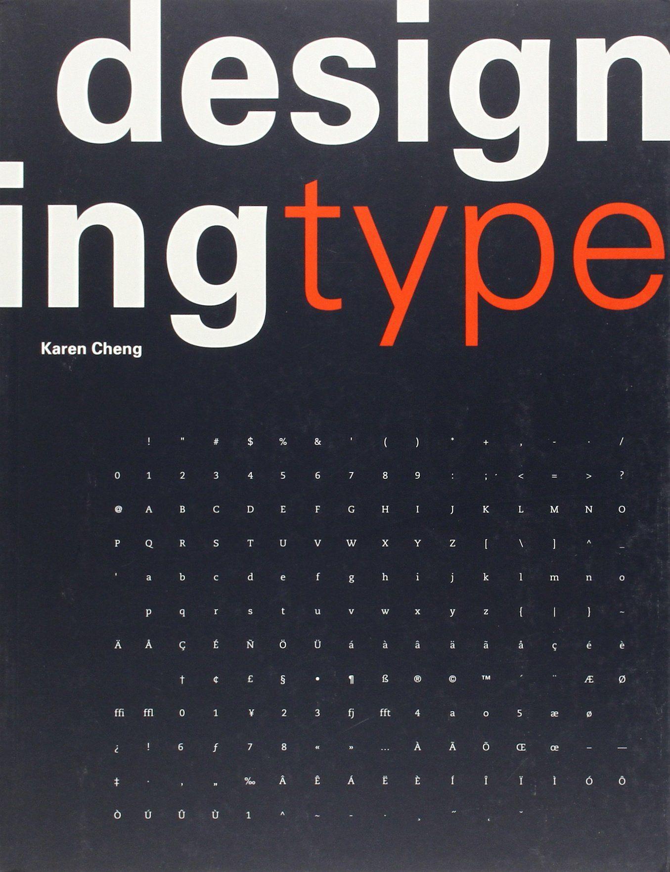 Designing Type (K. Cheng) Book design, Teaching graphic