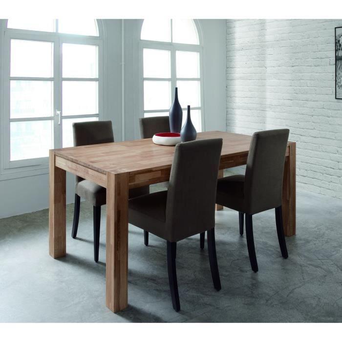 TABLE A MANGER SEULE MILES Table Extensible En Chene Massif 4 10 Personnes 150