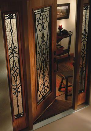 Jeld Wen Design Pro Fiberglassseries Front Entry Door Full View