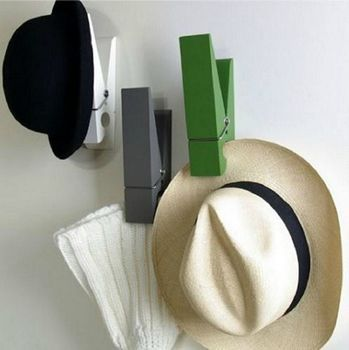 Oversized Peg Clip - loving this idea to hold my sons numerous caps but at £24.99 each I do not thing that I can justify the expense.  Might be up someone financial alley though?!