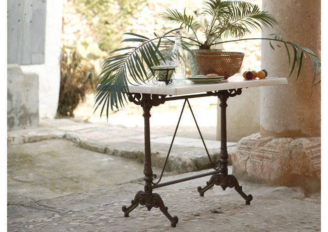Exterior. Mesa modelo Monaco. Forja artesanal mobiliario de jardin ...