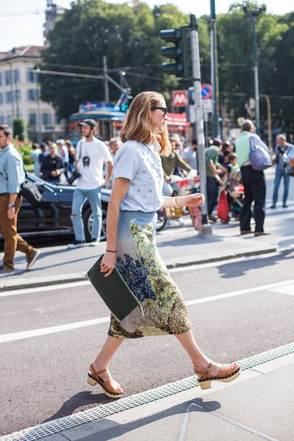 No21 skirt - street style