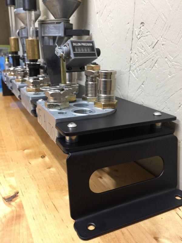 Dillon XL650 Toolhead Rack Bench/Shelf Mounted Storage