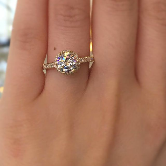 tacori gold engagement rings give the most popular styles a midas touch like this gorgeous - Popular Wedding Rings