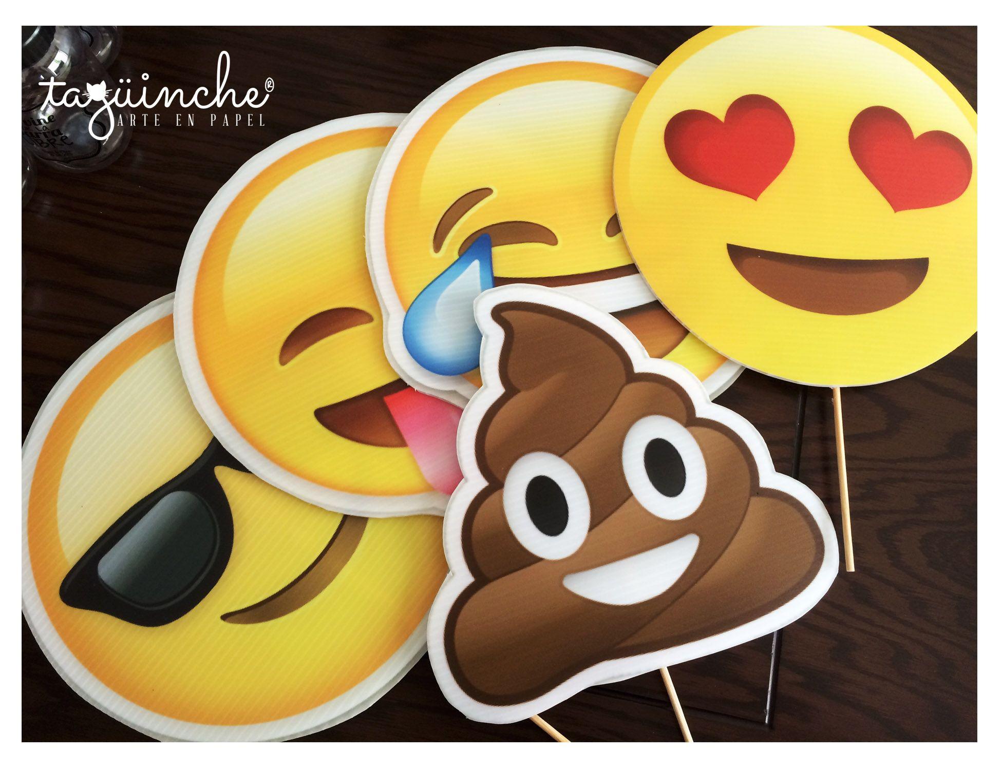 Emojis gigantes, letreros fiesta www.taguinche.com