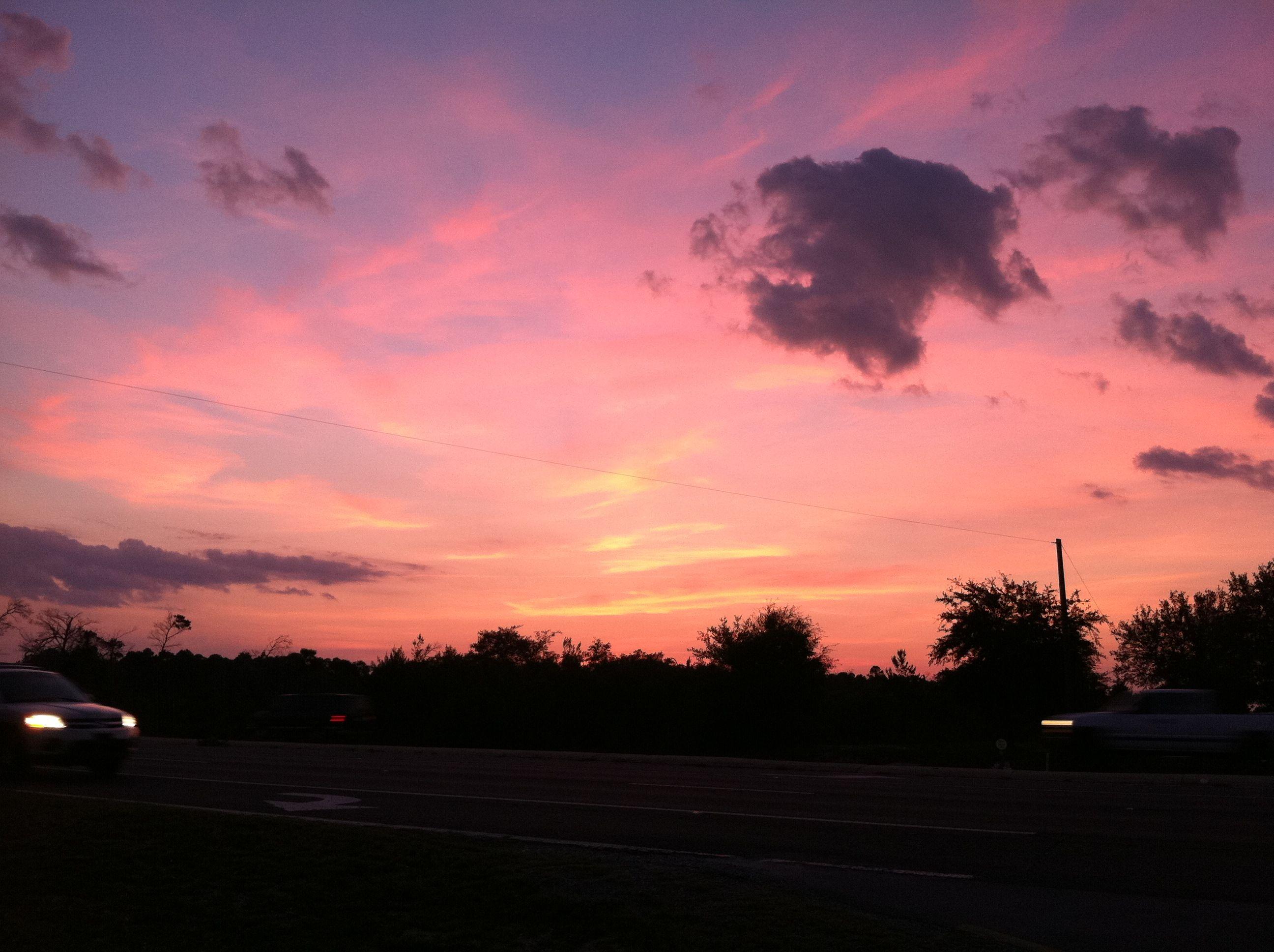 Sunset Over Navarre Fl