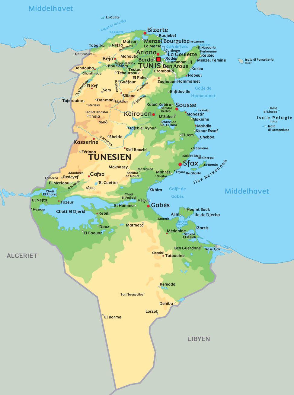 Pin Auf Tunesien Tunisia