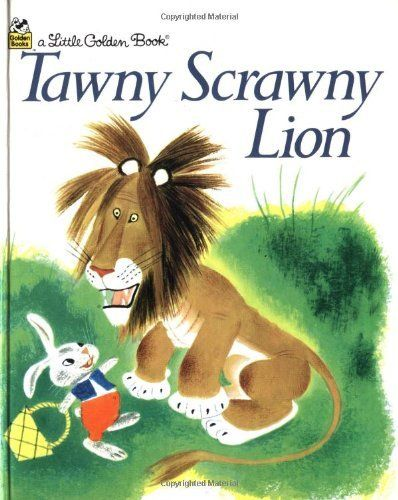 Tawny Scrawny Lion (Little Golden Book) von Gustaf Tenggren