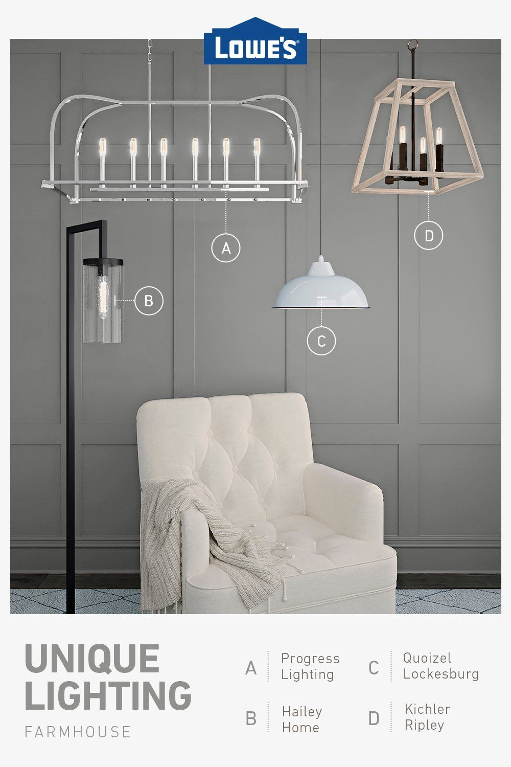 Shop trending lighting options for any budget in stock now