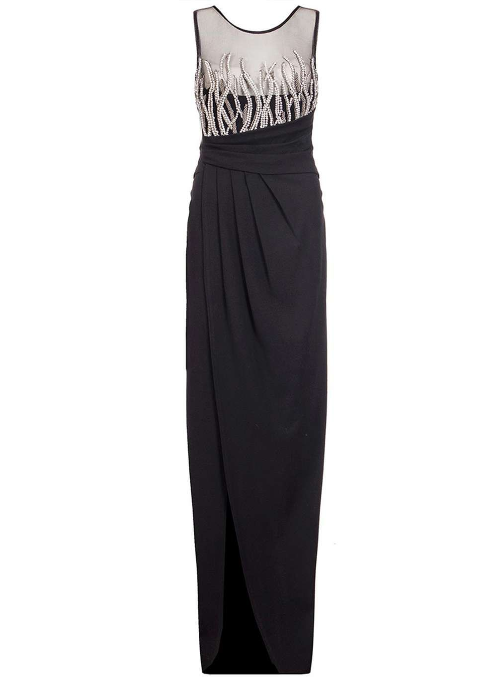Quiz woven mesh maxi dress products