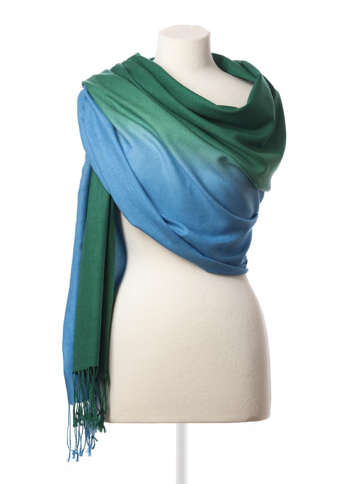 Ombre scarf  #dessy♥weddingchicks