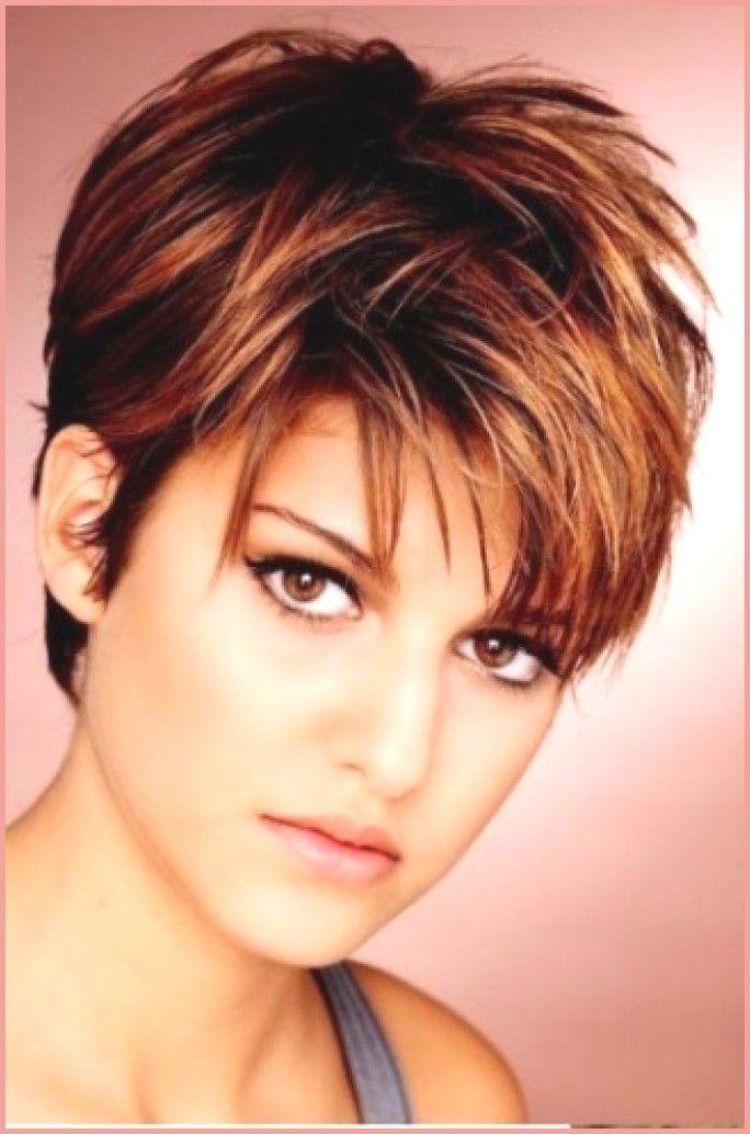 Haare rundes kurze gesicht damen Kurze Haare