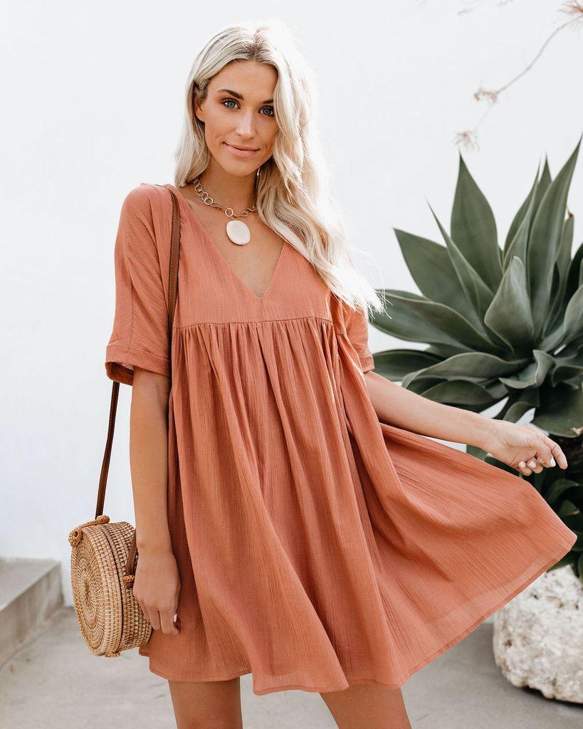 e4154d064f4 Darling Cotton Babydoll Dress - Ginger in 2019 | spring/summer ...