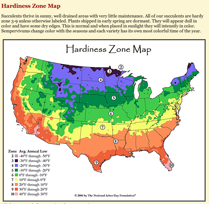 Hardiness Zone Map In 2020
