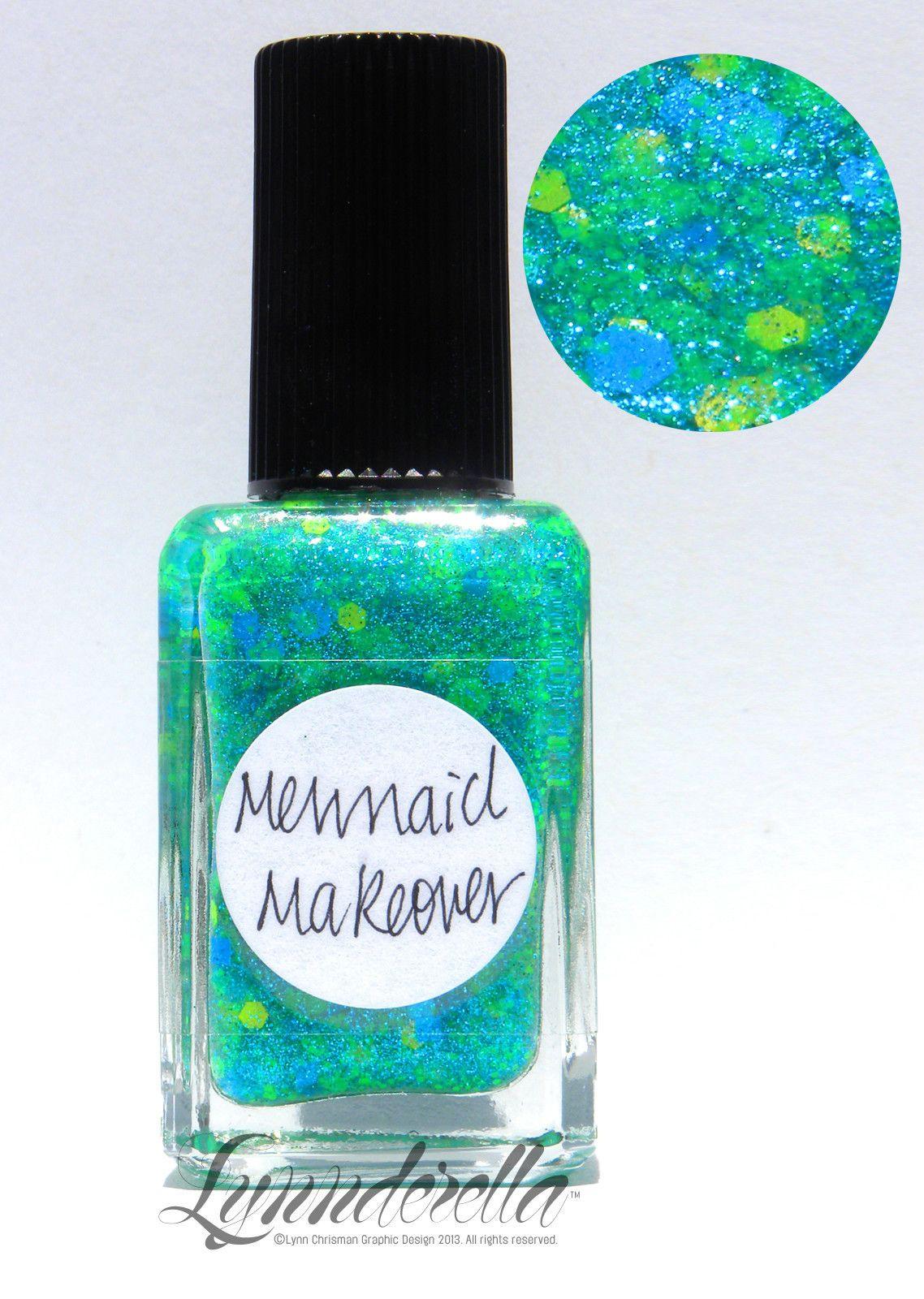 Lynnderella Limited Edition — Mermaid Makeover has assorted neon ...
