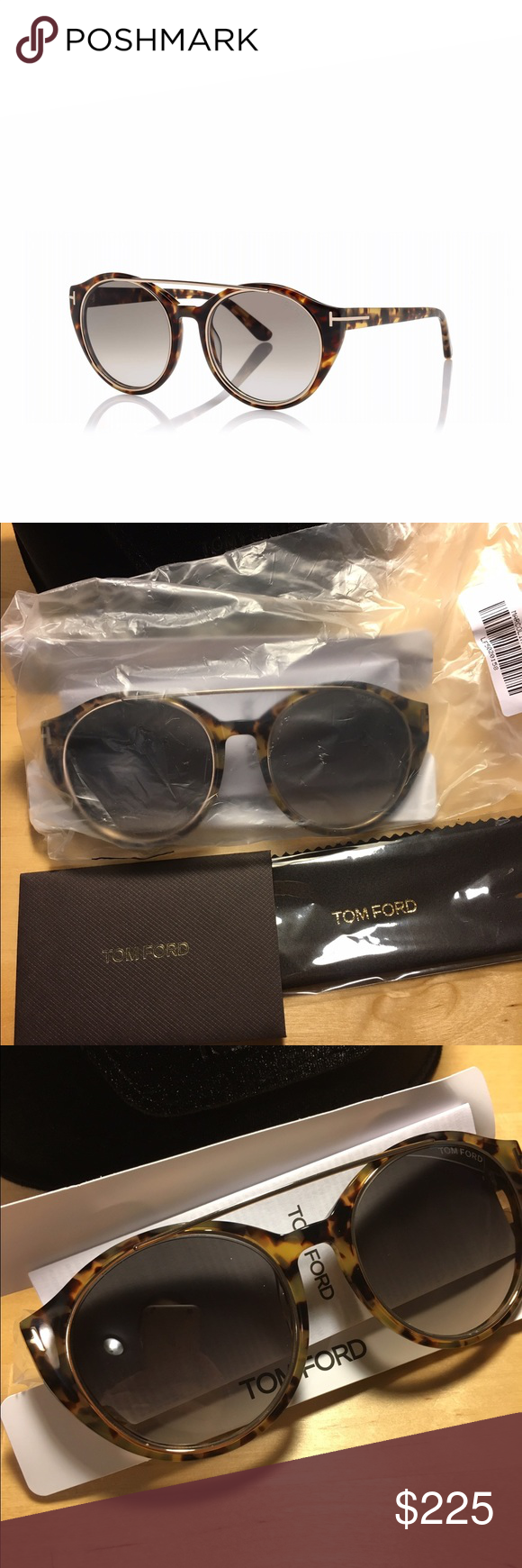 83f7932f9f2 Tom Ford Joan sunglasses Tom Ford Joan sunglasses. Frame color Havana.  Plastic and metal