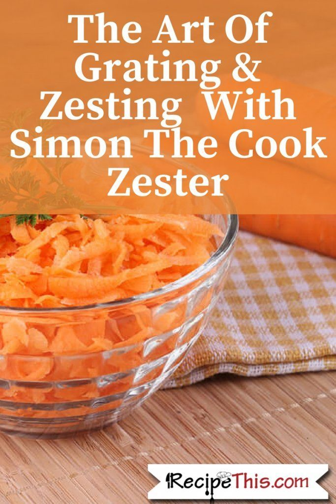 Marketplace   Discover what RecipeThis.com thought of The Simon Cook Zester.