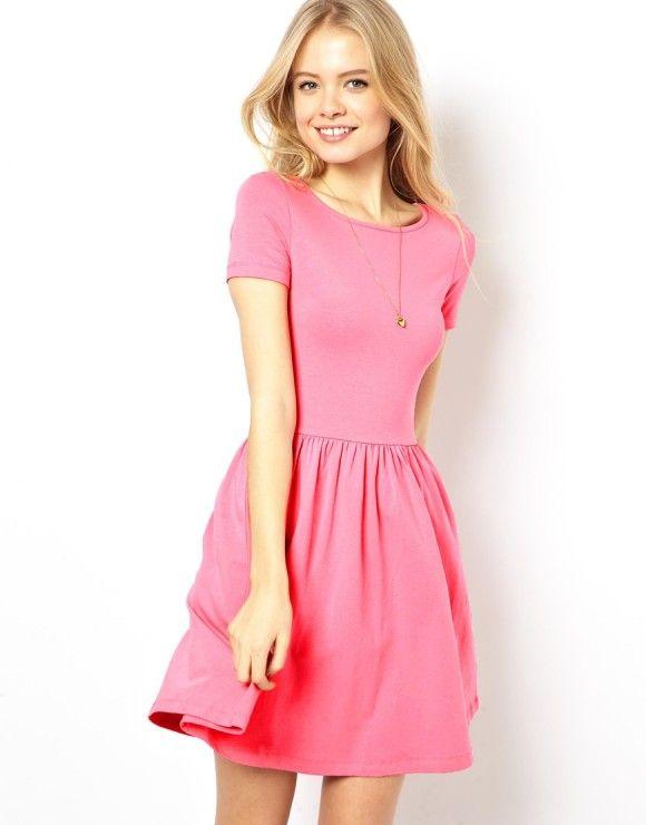 Vestidos cortos colores de moda primavera verano   Vestidos ...