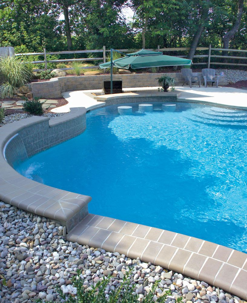 Pictures Of Inground Pools In Design Galleries Blue Haven Pool Photos Swimming Pool Photos Backyard Pool