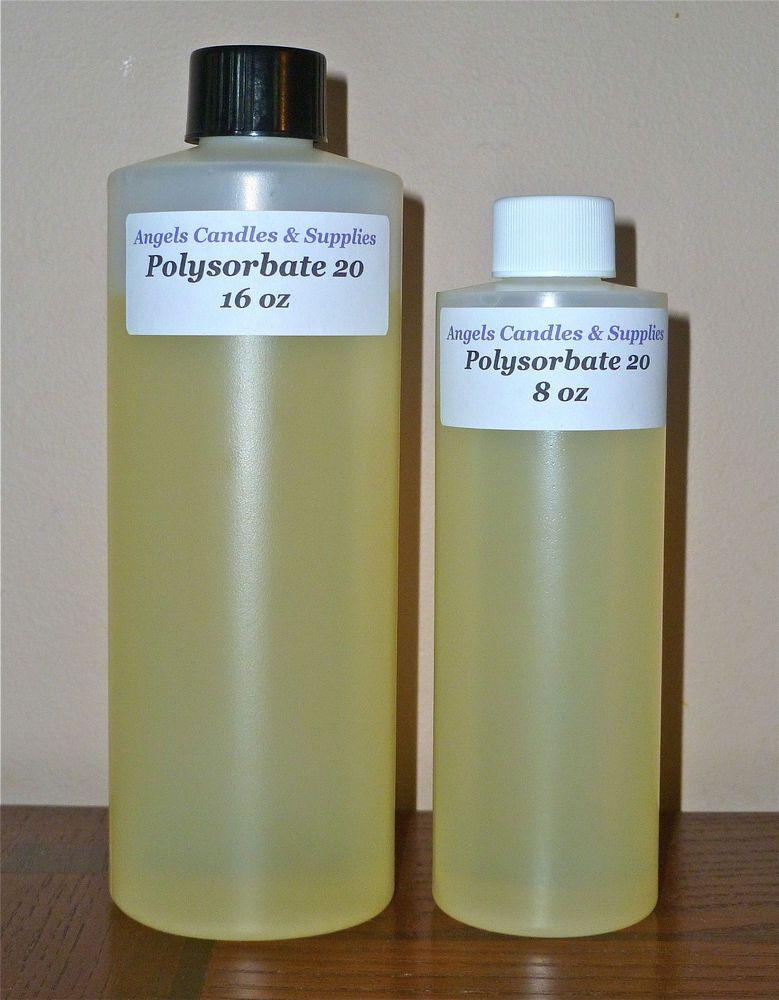 Polysorbate 20 Tween 20 Surfactant Emulsifier Sample Gallon Polysorbate 20 Linen Spray Gallon