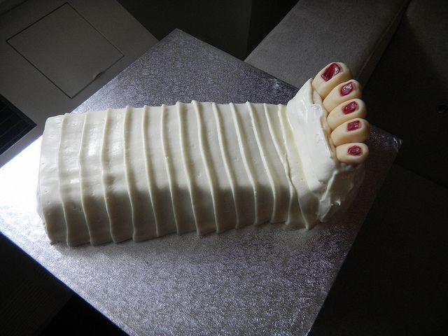 Broken leg cake recipe