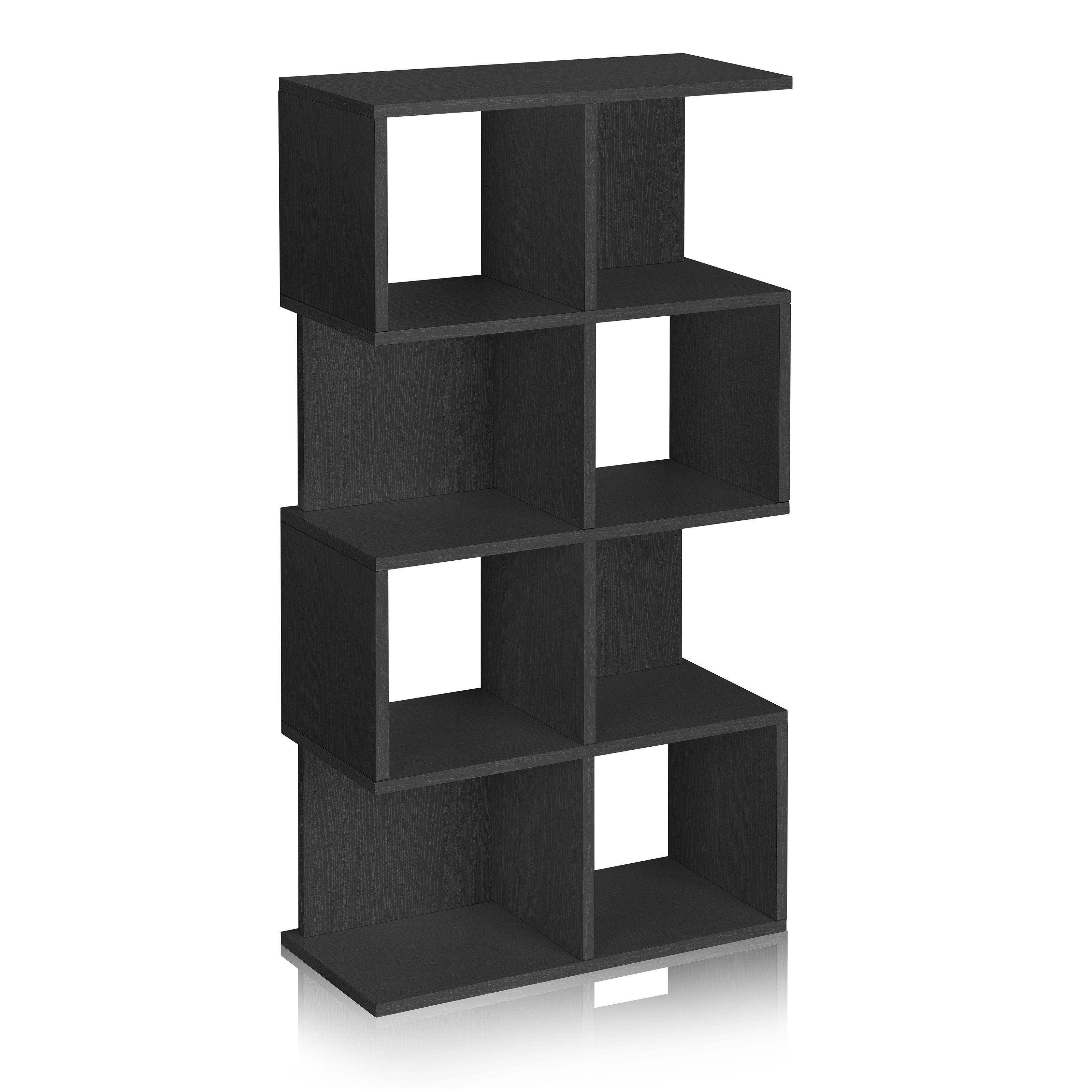 corner casual espresso office divider for shelves in and open shelf of three size dark bookshelves bookcases brothers medium home room bookcase